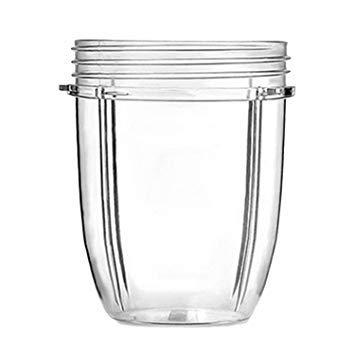 18oz kleine klare Tassen Tassen Ersatzteil Entsafter Zubehör für NUTRiBULLET Nutri Bullet Mixer Juicer