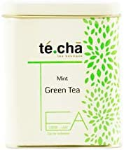 Te.Cha Tulsi Green Tea |100% Fresh Batch Each Week | Herbal Tea for Natural Immunity | 50 Servings
