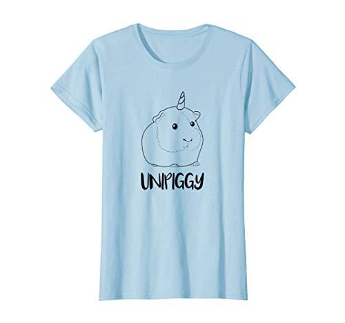 Unipiggy Einhorn T-SHIRT Meerschweinchen Nagetier Tochter (Coole Meerschweinchen Kostüme)
