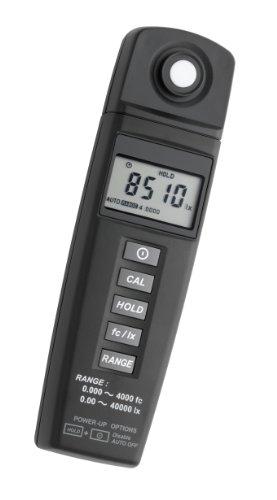 TFA Dostmann LM37 Luxmeter, zur Kontrolle der Lichtverhältnisse, Nullpunkt-Kalibrierung