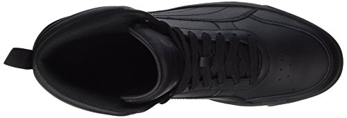 Puma Rebound Street V2 L, Scarpe da Ginnastica Basse Unisex-Adulto Nero (Puma Black-puma Black)