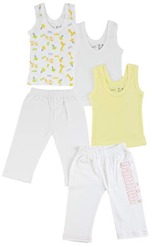 Bambini Girls Tank Tops and Track Sweatpants - Newborn Bambini-tank-top