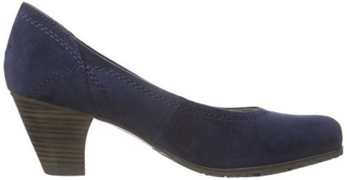 Softline22465 - Decolleté chiuse Donna Blu (Blu (Navy 805))