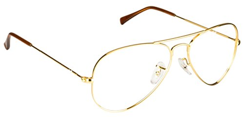 Rayban Male Metal Golden Aviator Full Rim Frame (Rayban-RB6049-2500)  available at amazon for Rs.3703