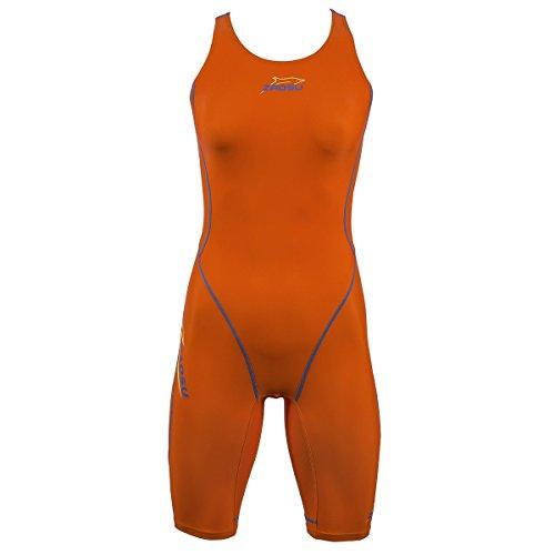ZAOSU Wettkampf-Schwimmanzug Z-Orange für Damen & Mädchen, Größe:164