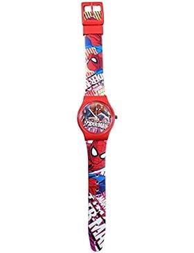 Kinder-Armbanduhr, Quartz, Motiv Spiderman Marvel Comics Civil War