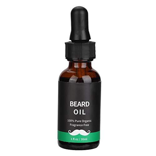 Bartwachstumsöl für Männer, Natural Liquid Men Bartschnurrbartwachstumspflegeöl Balsam (30ML) (Natural Leave Männer In Conditioner)