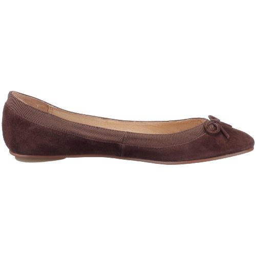 Buffalo London 207-3562 SUEDE Damen Geschlossene Ballerinas Braun (Brown 50)
