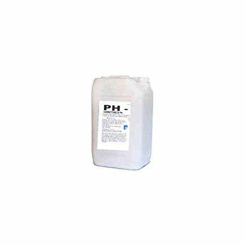 Mittel zur pH-Wert Korrektur, Poolreinigung, flüssig, korrigiert pH-Minus, 25kg