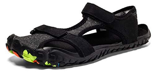 Uomo Sandali Sportivi Estivi Sneakers Donna Trekking Scarpe da Spiaggia Sandali a Punta Chiusa All'aperto Pescatore Piscina Acqua Mare Escursionismo Leggero