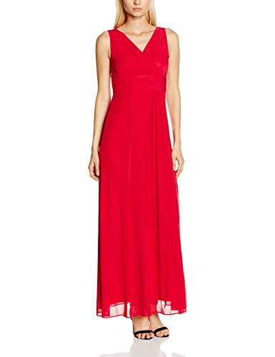 Swing Damen EmpireKleid Maxi Länge, Rot (Red 630), 38