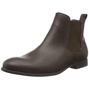 JACK & JONES Herren Jfwmitchell Pu Java Chelsea Boots