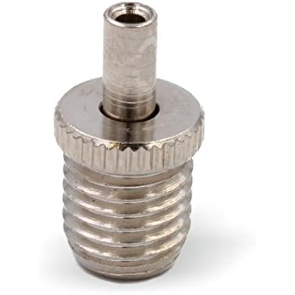 Drahtseilhalter // Gripper 12 M8 Außengewinde vernickelt Seil Ø1,0-1,2mm