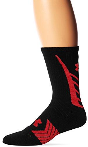 Under Armour Jungen Sportswear Socken und Strümpfe Undeniable Crew, Black, L, - Brady Socken Tom