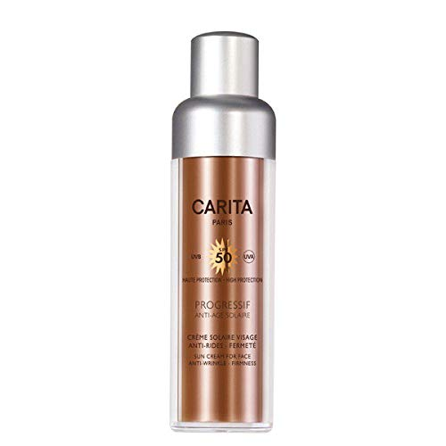 Carita Gesichts-Sonnencreme Progressif Anti Age 50 SPF 50.0 ml, Preis/100 ml: 177.98 EUR -