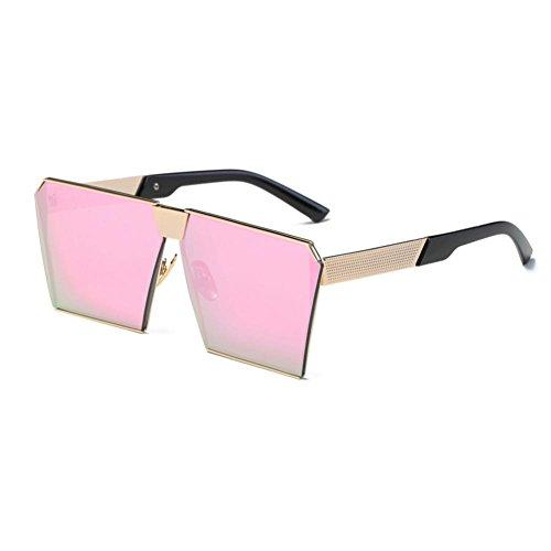 OverDose OverDose Unisex Sommer Frauen Männer Moderne Modische Spiegel Polarisierte Katzenauge Sonnenbrille Brille Damensonnenbrille Herrensonnenbrille (F)