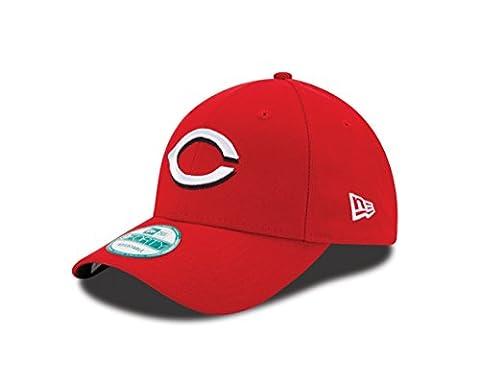New Era The League Cincinnati Filets Hm - Casquette pour Homme, couleur Rouge, taille OSFA