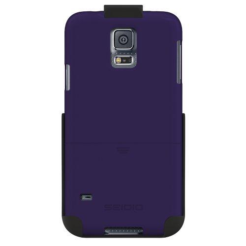 Seidio BD2-HR3SSGS5-VL Surface Hülle Combo für Samsung Galaxy S5 violett - Seidio Holster-design