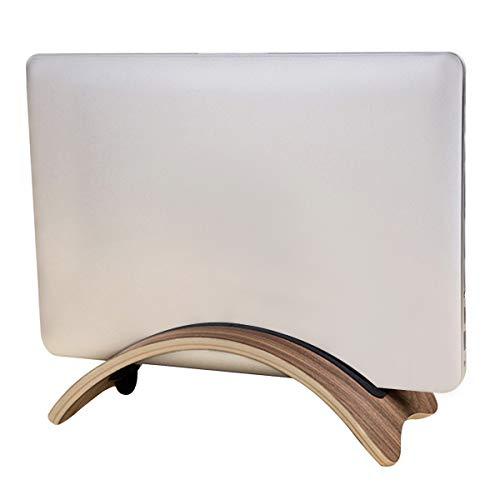 kilofly Arc Universal-Ständer für Laptops, Holz, verstellbar walnuss -