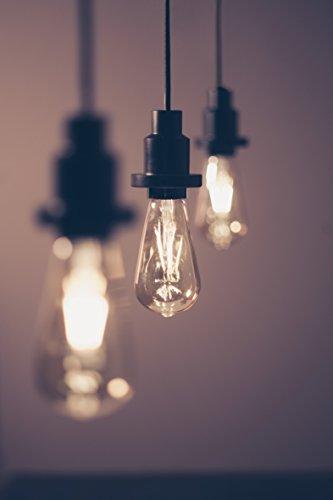 OSRAM LED Vintage Edition 1906 / LED-Lampe in Edison Form mit E27-Sockel / Nicht Dimmbar / Ersetzt 35 Watt / Klar / Warmweiß – 2700 Kelvin / 1er-Pack - 10