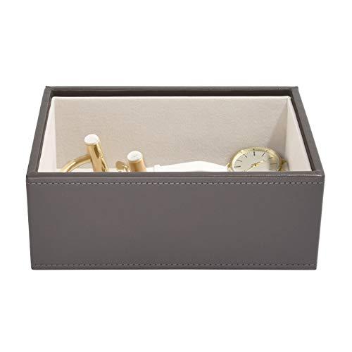 Mink Design (Stackers Schmuckkästchen mit Mini-Vertiefung., mink, 18 x 12,5 x 7 cm)