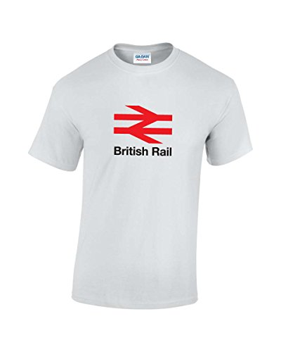 British Rail Logo T-Shirt in 4 Colours - S to XXL