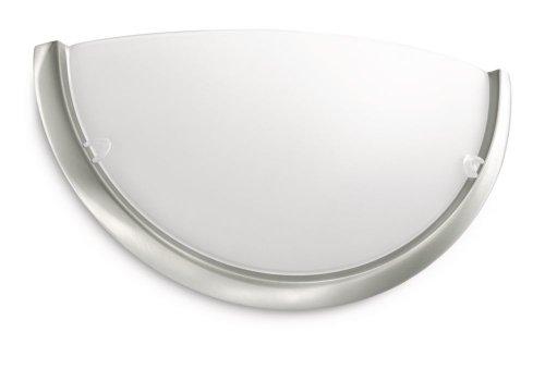 Philips Circle Lampada da Parete, Acciaio e Vetro, Cromato