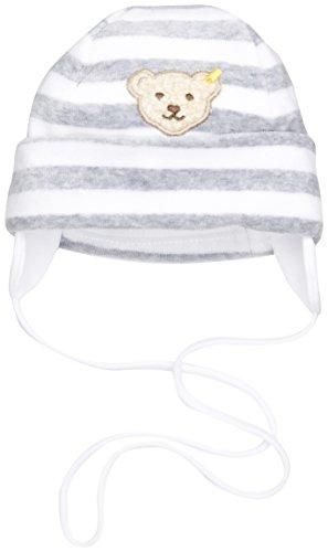 Steiff Baby-Unisex 2850 Mütze, Grau (Softgrey Melange 8200), 41