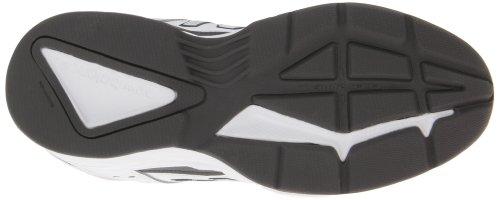 New Balance Men's MX409 Cross-Training Shoe,Black,10 2E US White/Grey