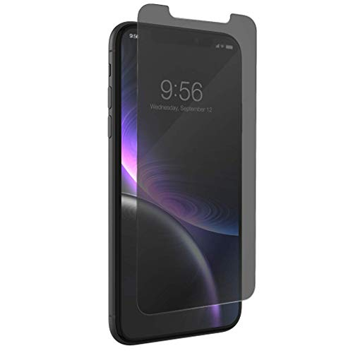 Privacy Screen Protector Guard (InvisibleSHIELD 'Glass + Privacy' Schutzfolie für Apple iPhone XR)