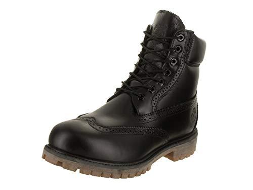 Timberland Men s 6 Inch Prem Brogue Black Boot 9 5 Men US