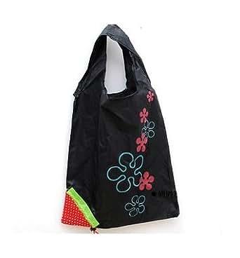 LIFECART fraise pliant pliable ECO sacs réutilisable cabas Shopping-noir