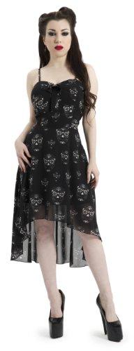 Jawbreaker Kleid Sugar Skulls Dress DRA2327 Schwarz XL