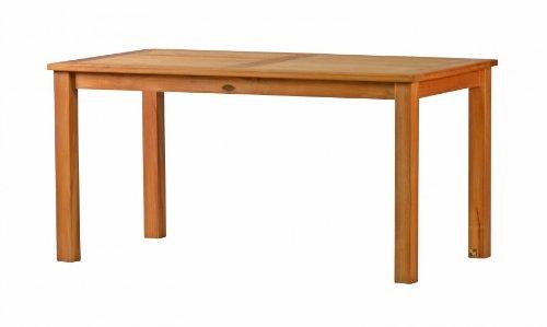 Kai Wiechmann®, eleganter Gartentisch aus der Premium-Serie 'Brighton' gefertigt aus Teakholz 180x90 cm/ Teak-Tisch/ Holztisch/ Gartenmöbel/ massiv/ rechteckig/ Esstisch/ Premium-Qualität