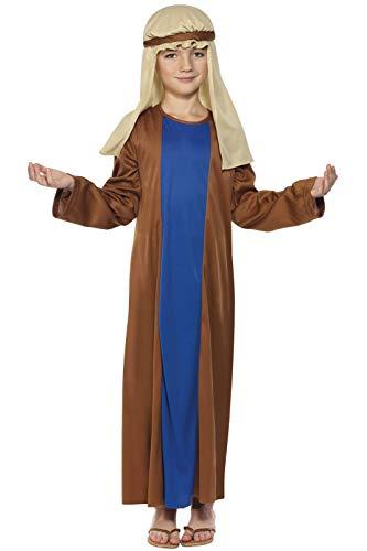 Smiffys, Kinder Jungen Josef Kostüm, Robe und Kopfbedeckung, Größe: L, 31287 (10 Jährigen Jungen Kostüm Ideen)