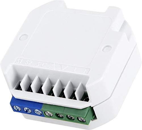 Funk-Empfänger - für die Funk-Steuerung elektrischer Rollläden - Vorhänge - Jalousien - Markisen - max. 500W