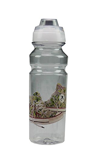 Borraccia Sportiva in tritan Senza BPA, infrangibile 750 ml, 100% Made in Italy Trekking cicloturismo Palestra