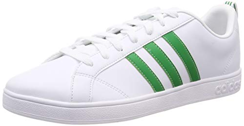 adidas VS Advantage, Zapatillas de Tenis para Hombre, Blanco FTWR White/Green/Core Black, 40 EU