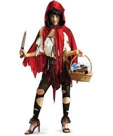 Kleine tote Riding Hood - Adult Halloween-Kostüm - Große