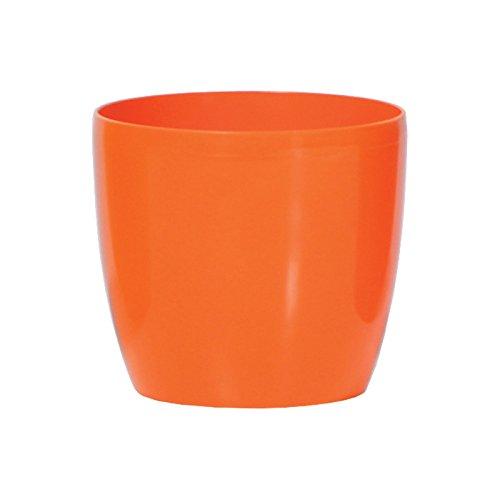 6,5 Liter Fensterbank Blumentopf Übertopf Coubi Serie Orange ø 230 mm