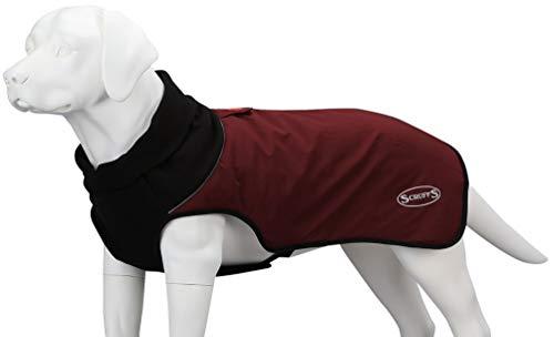 Scruffs Thermo-Hundemantel, gesteppt, Größe XS, 220 g, Burgunderrot