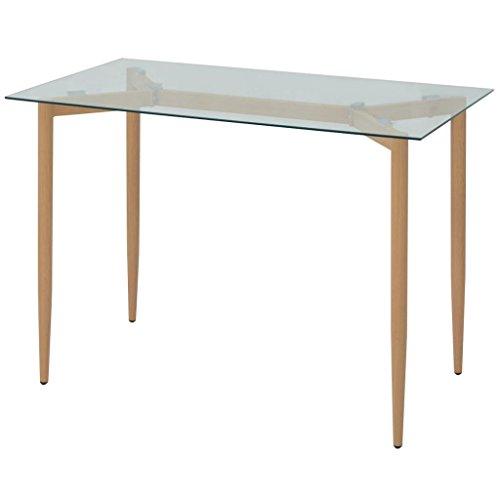 SENLUOWX Table de Salle à Manger 120 x 70 x 75 cm