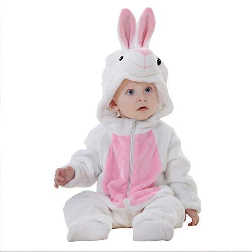Tsingbei Baby Kleinkinder Animal Kostüm Halloween Party Jumpsuit Winter Strampler Bekleidung Tierkomstüme