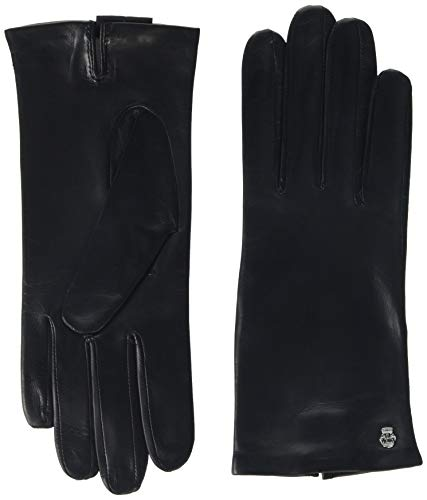 Roeckl Damen Ladies Dress Glove Handschuhe, Schwarz (Black 000), 7