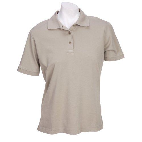 5.11Tactical # 61164Musikalische Einschlafhilfe, Hase, Melodie Damen Tactical Short Sleeve Polo Shirt, damen, Silver Tan (T-shirt Besticktes Tan)