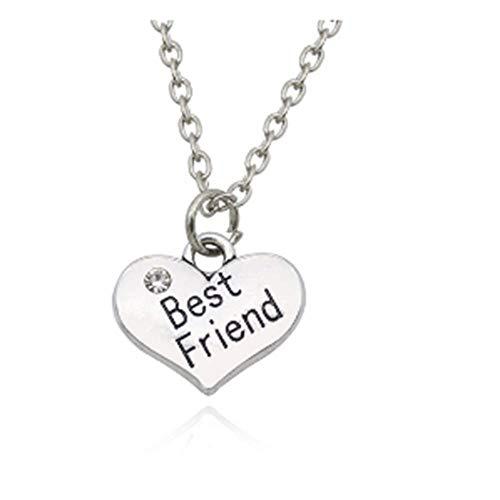 GHJL Bester Freund für Immer Schwester Anhänger