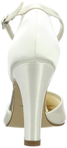 Rainbow Club Brautschuhe Dana – Ivory Satin – Pumps Damen - 2