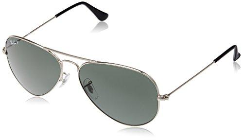 Ray-Ban Aviator Sunglasses (Silver) (RB3025|003/5858)