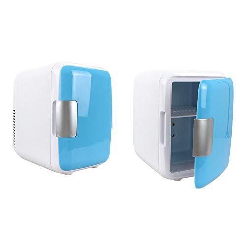 HENGKANG 5L Mini-Kühlschrank, Warm Und Kalt, Für Auto Und Zuhause,Blue,Car&Home