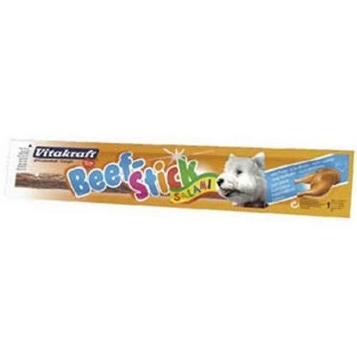 Vitakraft Beefstick - Bastoncino alla carne da masticare per cani (confezione da 50) (Taglia unica) (Tacchino)